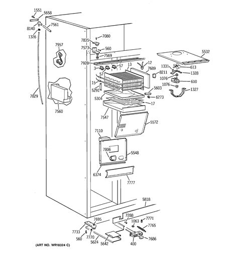 ge zisbdxa side  side refrigerator parts sears partsdirect