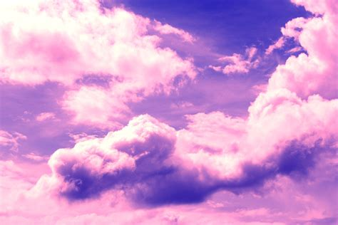 Pink Clouds Free Stock Photo