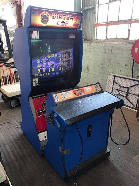 Arcade Game Virtua Cop 2 Twin Light Gun Shooting Game