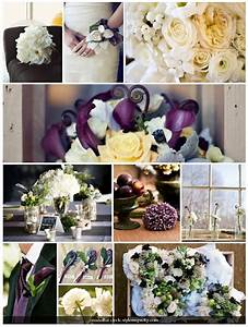de Lovely Affair: {Inspiration Board} Winter Florals