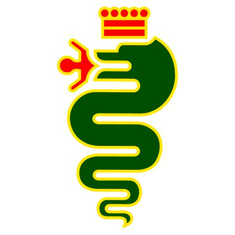 sticker alfa romeo logo couleur
