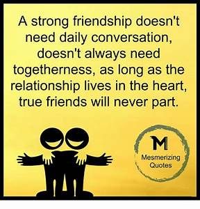 A Strong Friend... Daily Need Quotes