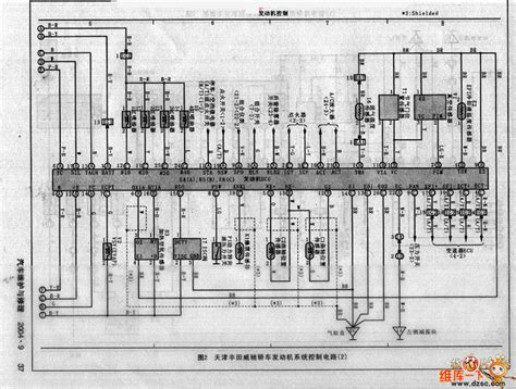 tianjin toyota vios circuit automotive circuit circuit diagram seekic