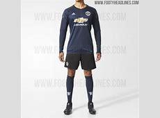 Manchester United's Sleek 201718 Home Goalkeeper Kit Leaked