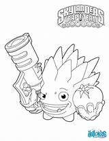 Coloring Trap Skylanders Fight Character Colouring sketch template