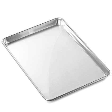 baking sheet sizes commercial pans aluminum grade pan cookie tray jelly assorted roll gridmann aluminium half walmart decor storage mix