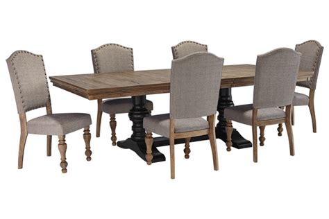 ashley furniture dining tables and chairs tanshire ashley furniture dining room pinterest