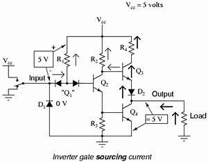 the not gate logic gates electronics textbook With circuit logic gates