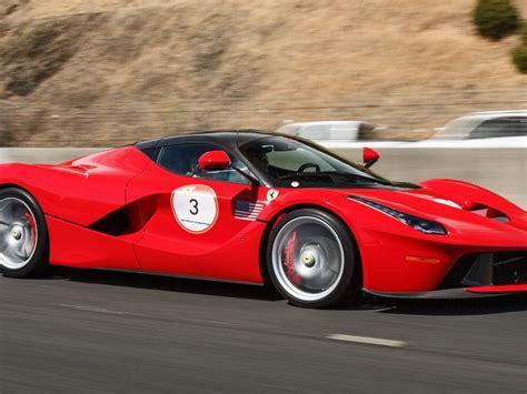 Ferrari Car Cavalcade 2015 Usa 3