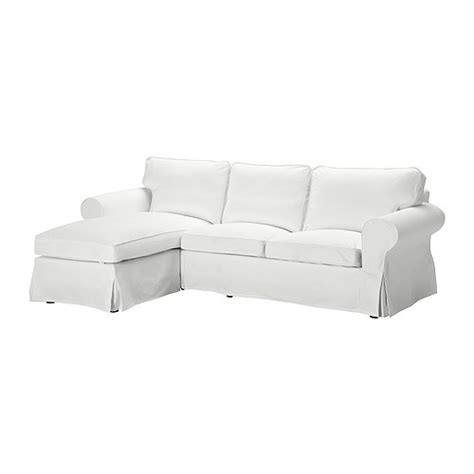 ikea ektorp chaise lounge ektorp two seat sofa and chaise longue blekinge white ikea