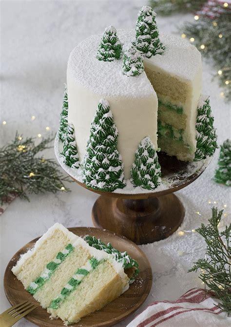 add sugar to christmas tree water tree cake preppy kitchen