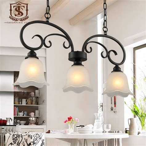 country style hanging light fixtures country style dining room pendant l black wrought iron