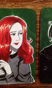Snape and Lily ♠️ My Art~ | Anime de harry potter, Harry ...