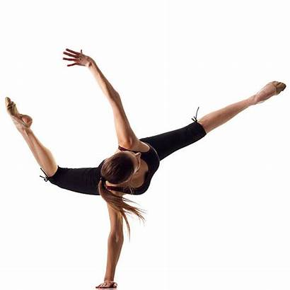 Gymnast Dance Modern Contemporary Dancing Isolated Royalty