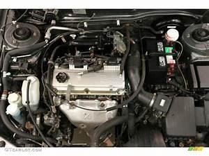 2003 Mitsubishi Galant Es 2 4 Liter Sohc 16 Valve 4