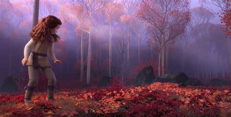frozen  teaser trailer breakdown elsa  autumn