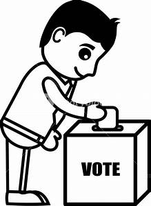 Voting - Cartoon Office Vector Illustration Royalty-Free ...