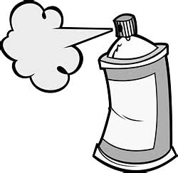 shoo clipart black and white how to draw a spray paint can how to draw a spray paint