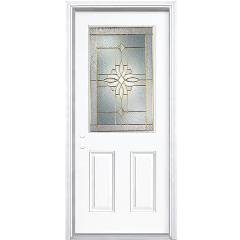 shop reliabilt  lite prehung inswing steel entry door