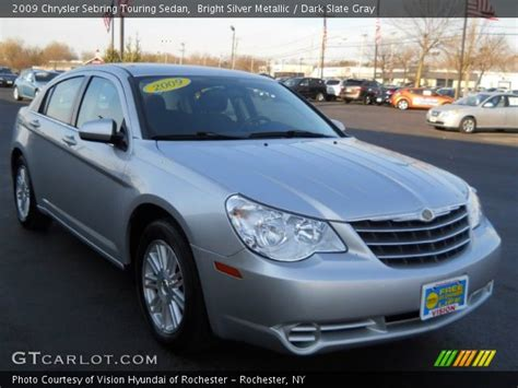 2009 Chrysler Sebring Touring by Bright Silver Metallic 2009 Chrysler Sebring Touring