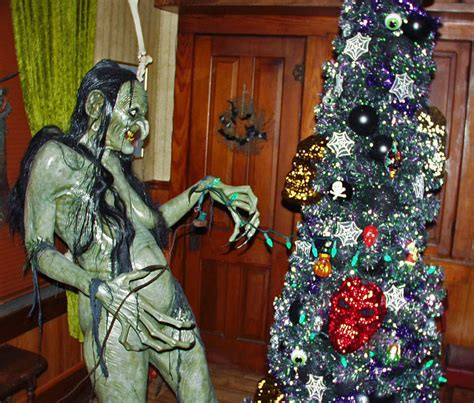 twenty trees   making christmas creepier