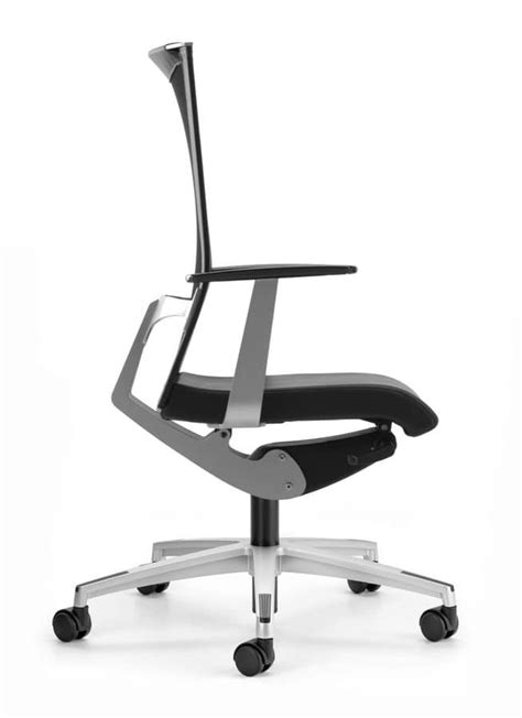 office chair with wheels and lumbar support idfdesign