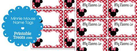 printable minnie mouse  tags printable treatscom