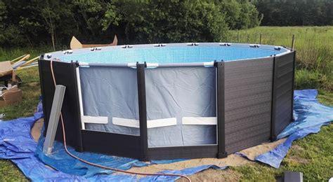 piscine intex graphite solde piscine hors sol tubulaire graphite intex diam 4 78 x h 1