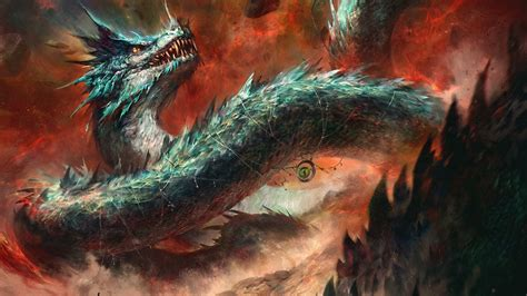dragon artwork digital art creature fantasy art