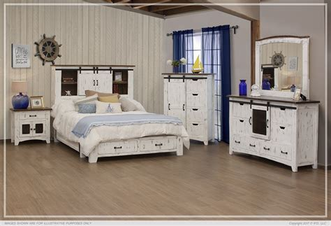 IFD :: Bedroom sets / 3601 STORAGE PUEBLO WHITE