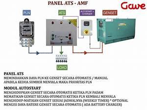 Jual Panel Genset Ats Amf 11 Kva 1phase    33kva 3phase Di