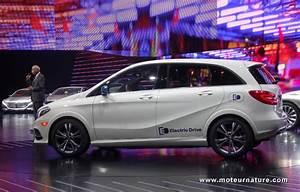Mercedes Classe B Electrique : mercedes classe b electric drive le premier monospace lectrique ~ Medecine-chirurgie-esthetiques.com Avis de Voitures