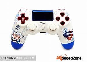 SuperMan PS4 Rapid Fire Modded Controller ModdedZone