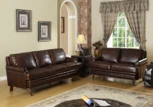 lovely chocolate brown leather couch decorating ideas
