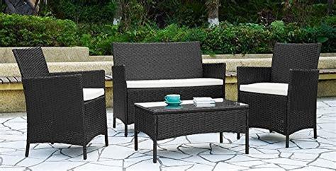 lawn comfort gartenmöbel 4pcs effect rattan outdoor indoor garden coffee table and