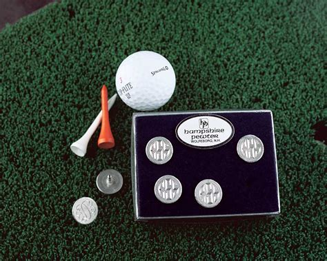 personalize golf ball marker engravable great golfer gift