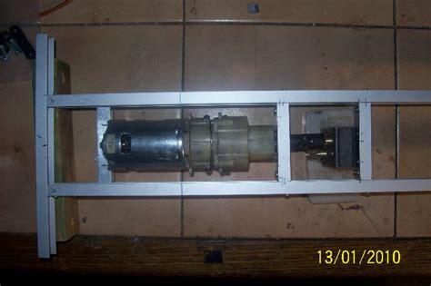akkuschrauber motor als antrieb rc baustelle de kipper und dumper 1 8 multicar m25