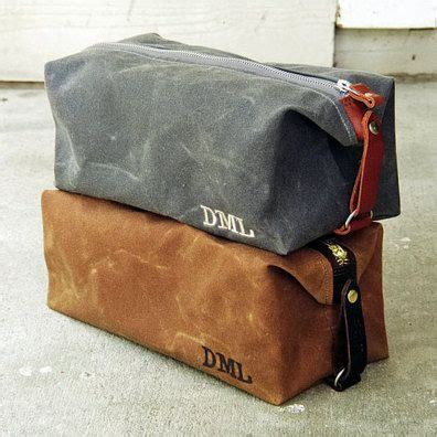 convertible mens dopp kit personalized toiletry bag
