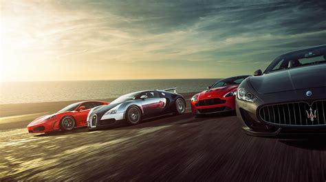 Super Sports Cars Wallpaper