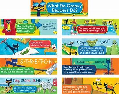 Reading Cat Pete Strategies Board Teachercreated Cats