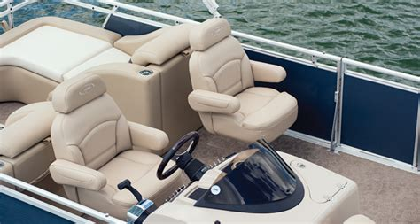 Captain Chairs For Pontoon Boats by Harris Flotebote Solstice 240 Primo Pontoon Boats