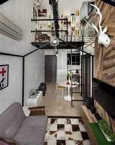 small loft interior design in singapore With interior design of house with loft