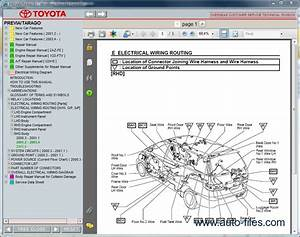Toyota Previa    Tarago  Repair Manuals Download  Wiring
