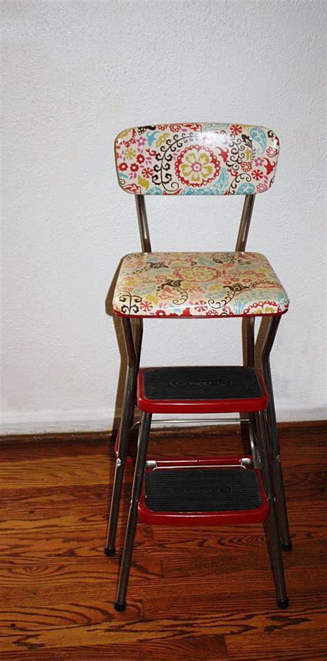 Costco Kitchen Furniture by Vintage Restored Cosco Kitchen Step Stool Retro Cool