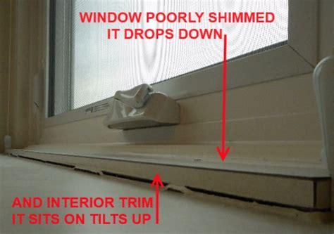 bad window replacement top  installer screw ups