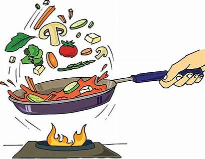 Clipart Pan Sauter Flipping Clipground