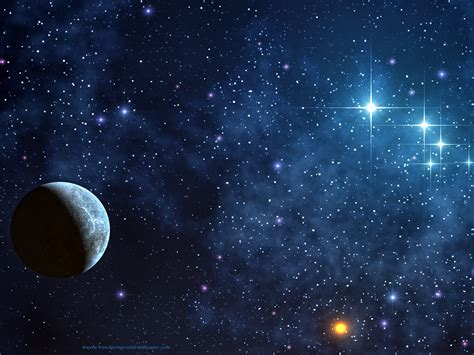 Space Stars Blue Wallpaper 2014 Hd  I Hd Images