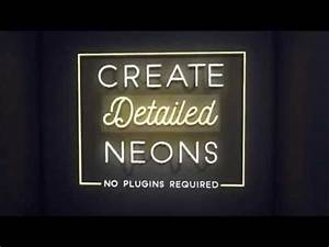 Neon Sign Kit After Effects Project Files