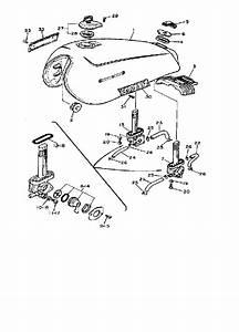 1981 Virago 750 Bobber Kit
