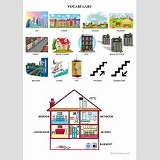 City  House Vocabulary Worksheet  Free Esl Printable Worksheets Made By Teachers